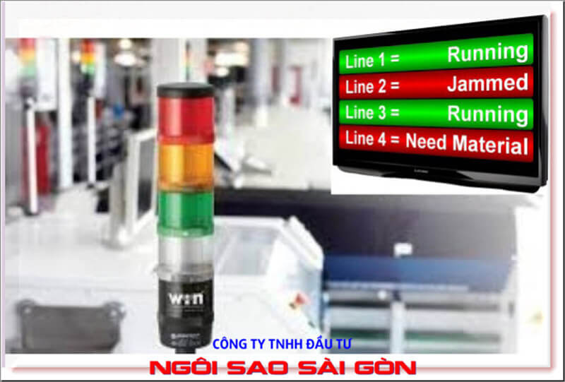 Lean Manufacturing trong nháy mắt với Andon System