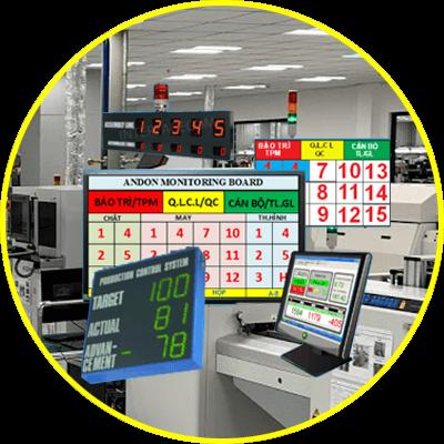hệ thống hiển thị andon system 2