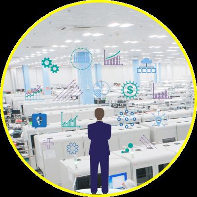 hệ thống andon system quản lý sản xuất